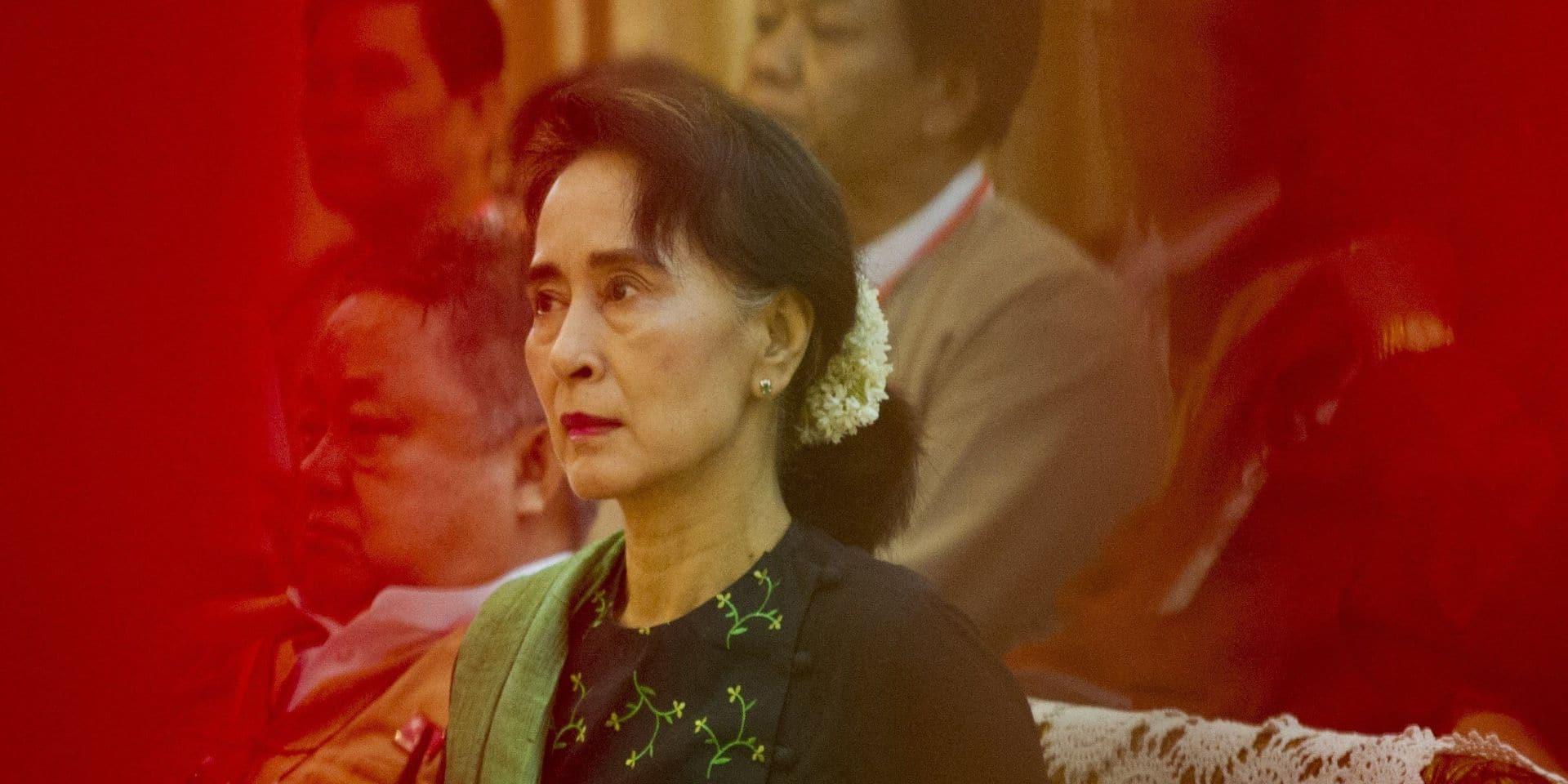 Aung San Suu Kyi en 2015.