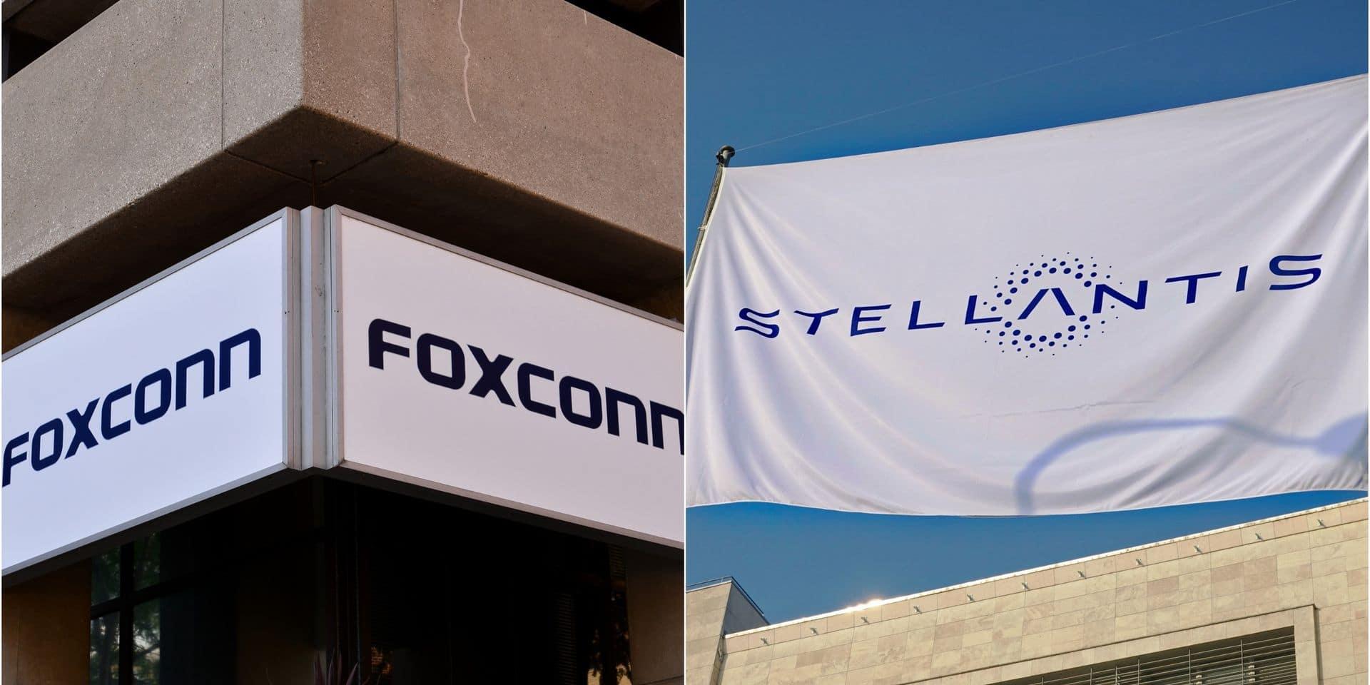 Foxconn en passe de nouer une troisième alliance dans le secteur automobile