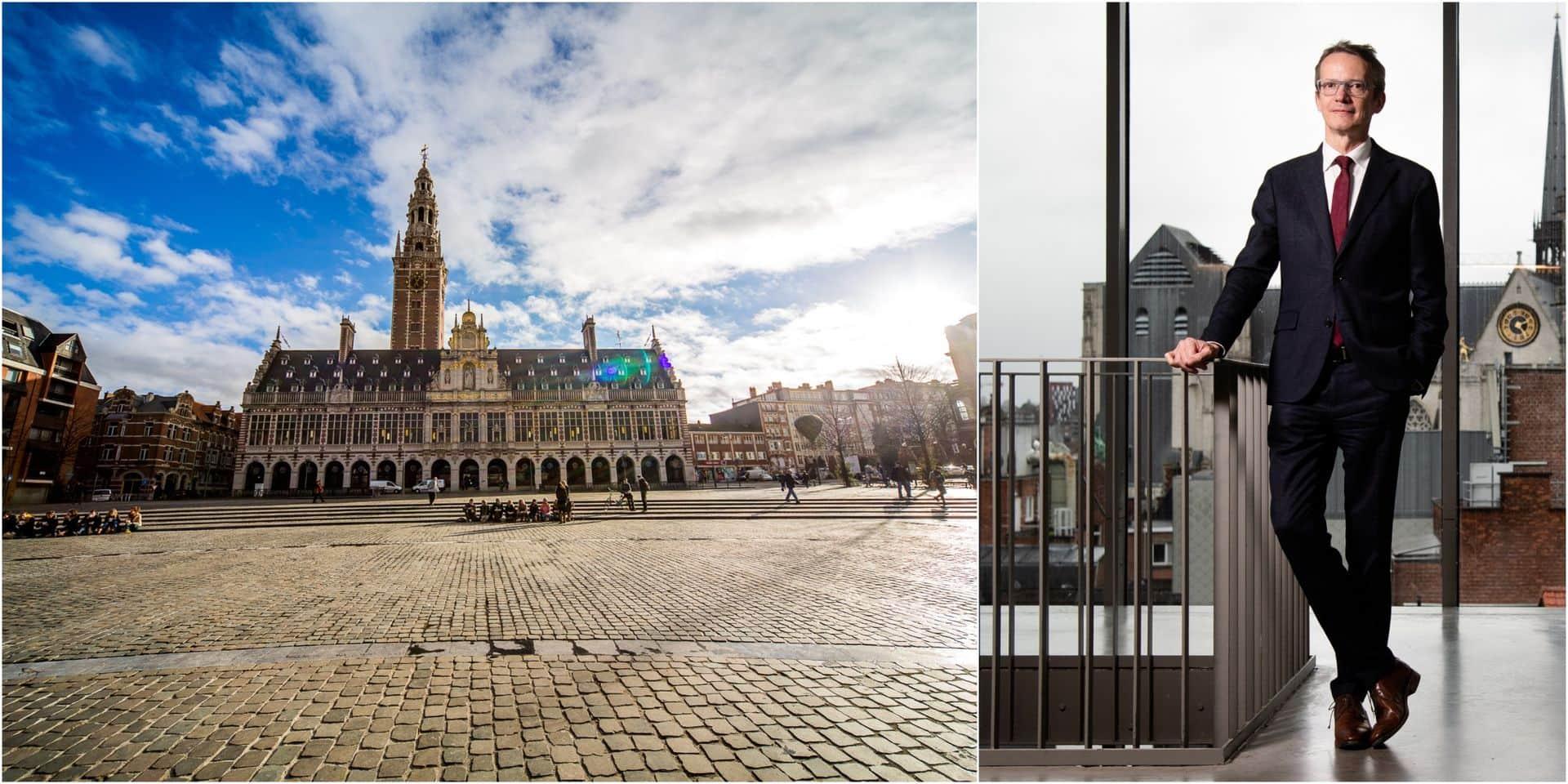 """""""La notoriété de la KU Leuven dépasse celle de la Flandre"""""""