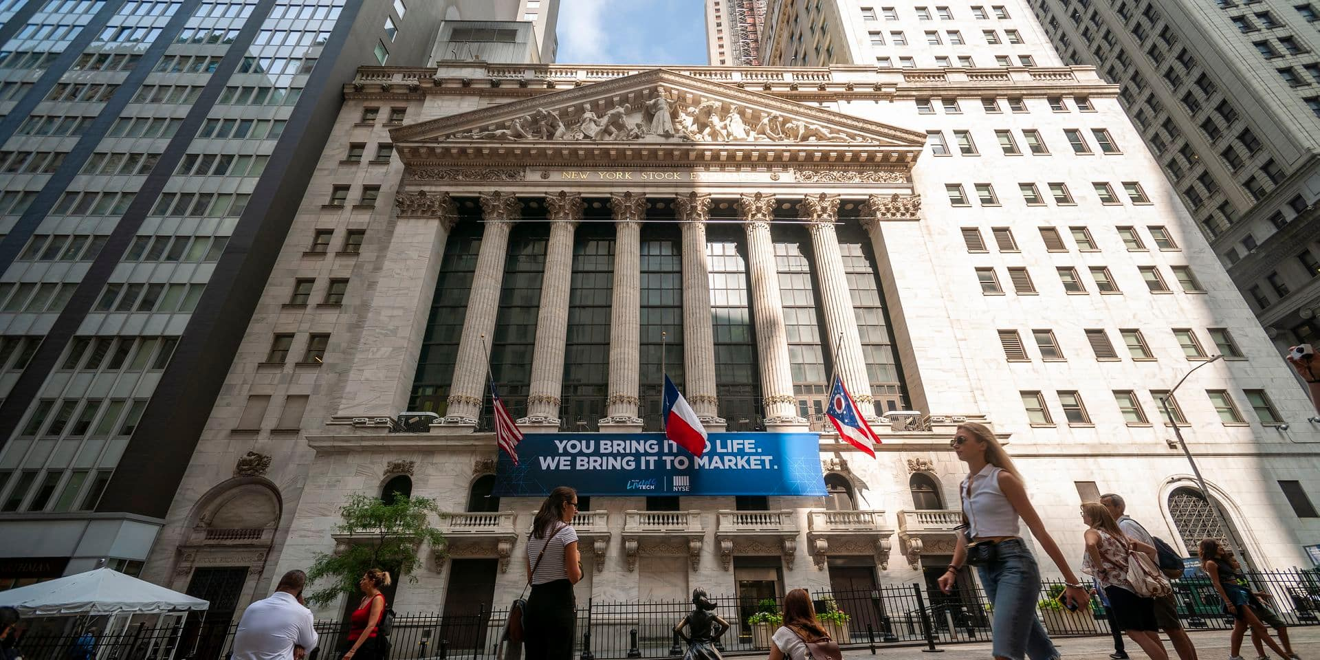 USA: le taux à 10 ans temporairement sous celui à 2 ans, un indicateur de récession