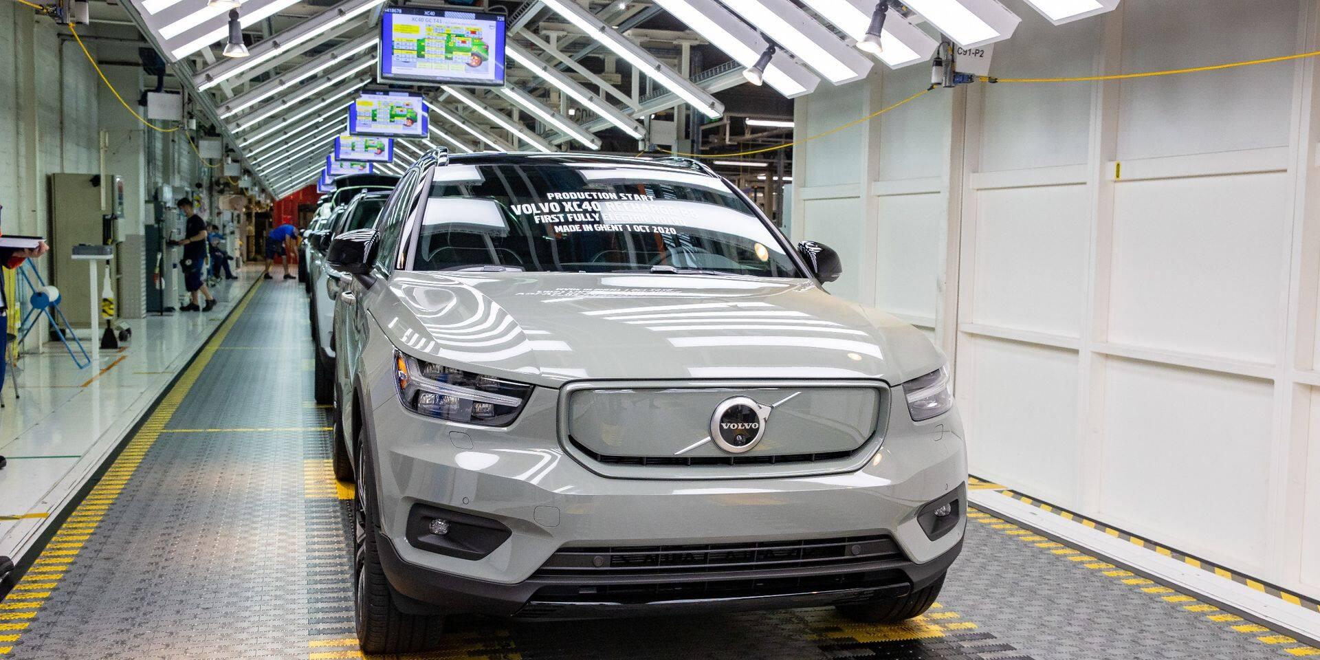 Volvo Gand : la production stoppée de nouveau