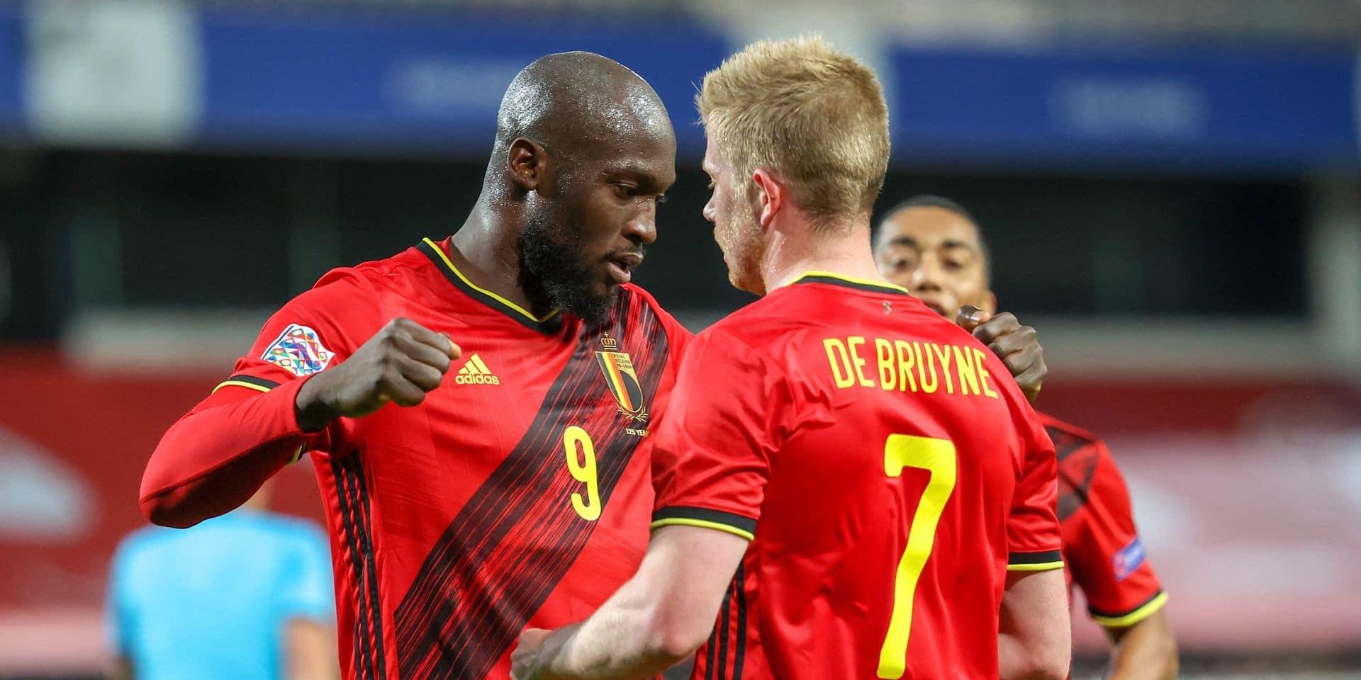 La Belgique toujours première au classement mondial de la FIFA