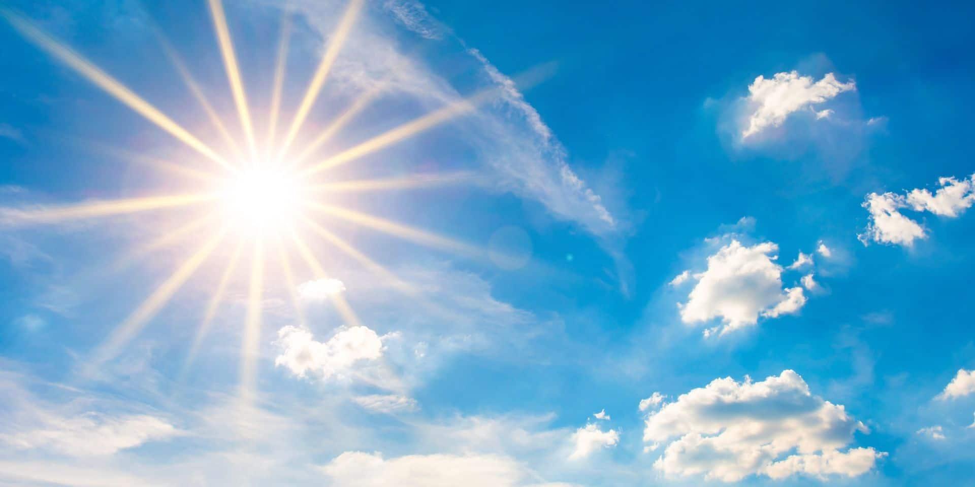 Météo: une très belle journée avant le coup de chaud