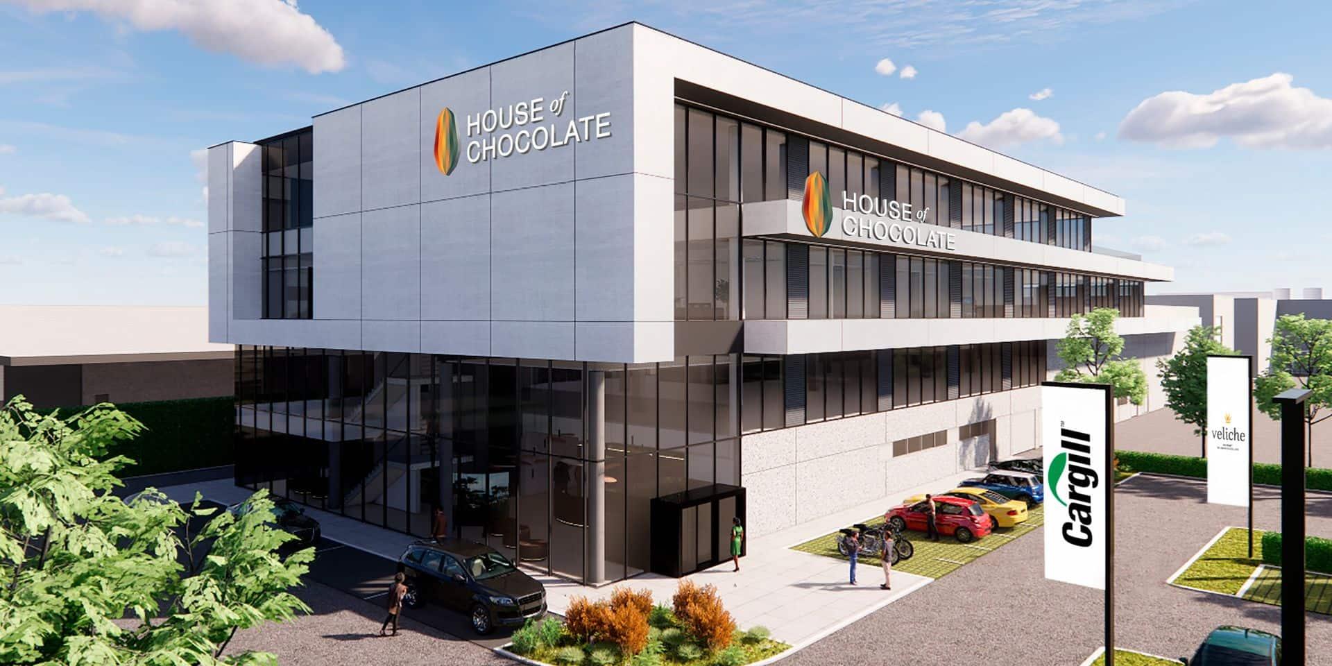 "La ""House of Chocolate"" sera opérationnelle en mars 2022."