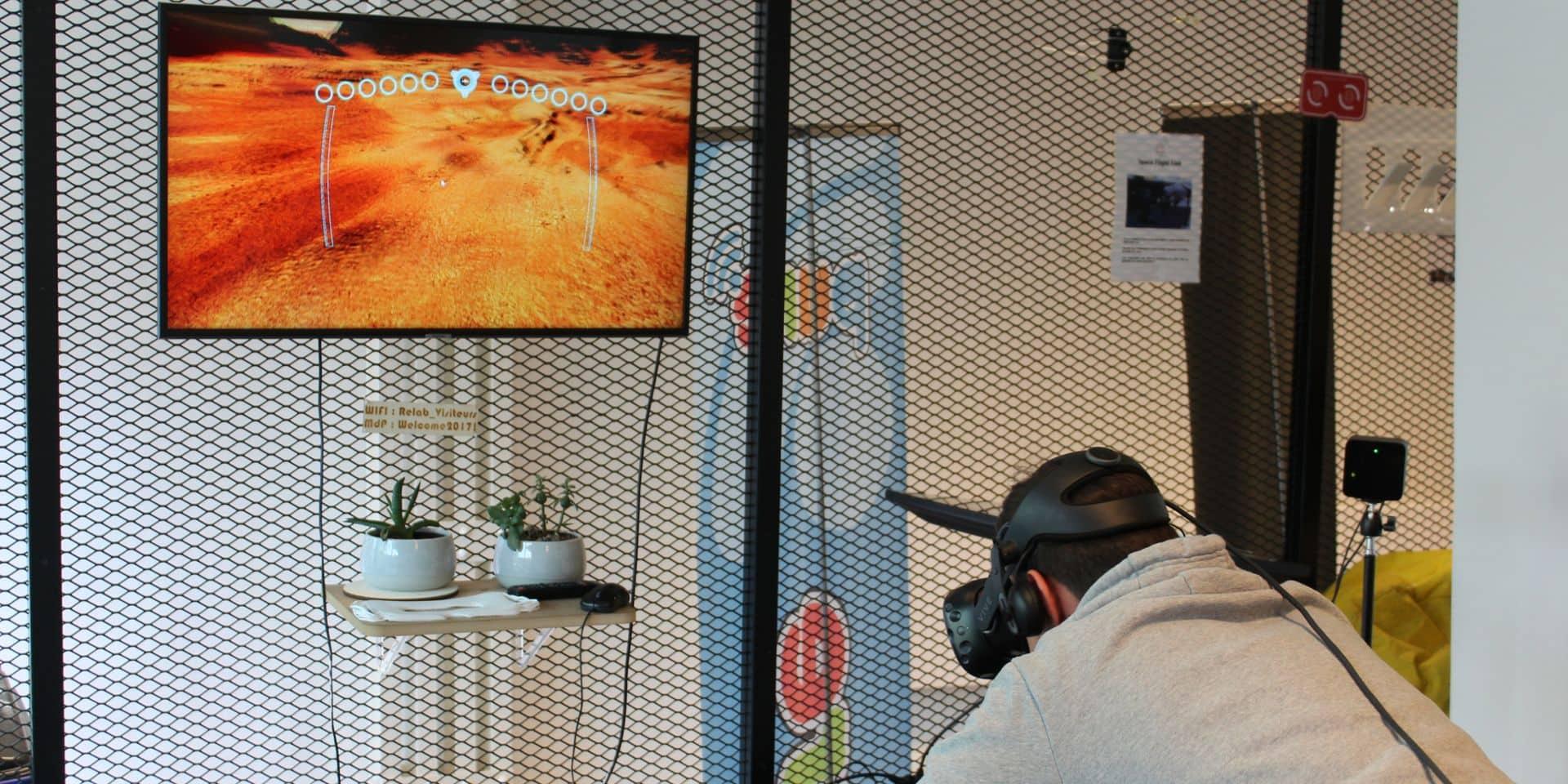 Une immersion dans la réalité virtuelle à Liège