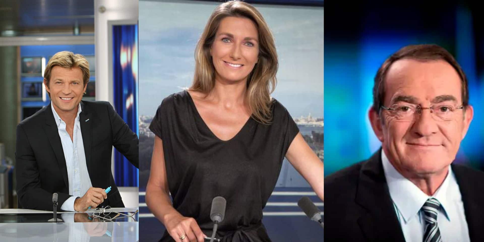 Delahousse, Pernaut, Anne-Claire Coudray,... : le salaire mirobolant des stars de l'info