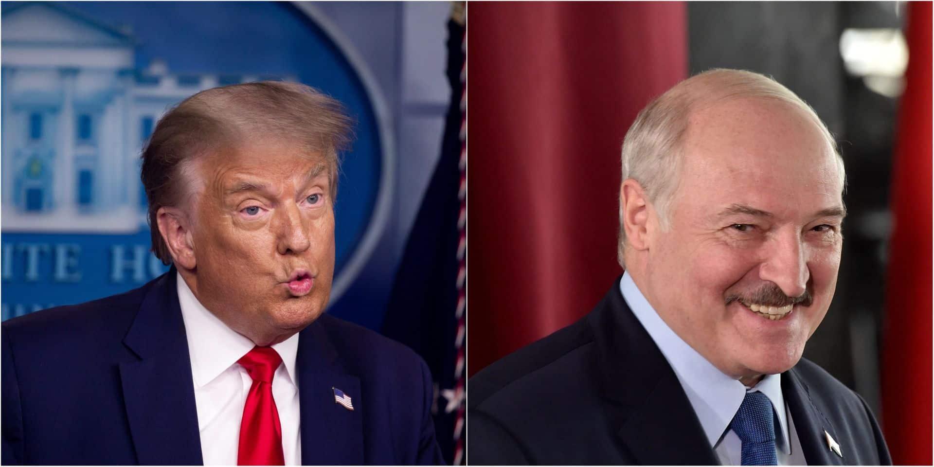 """Donald Trump dit suivre la situation au Bélarus """"de très près"""""""
