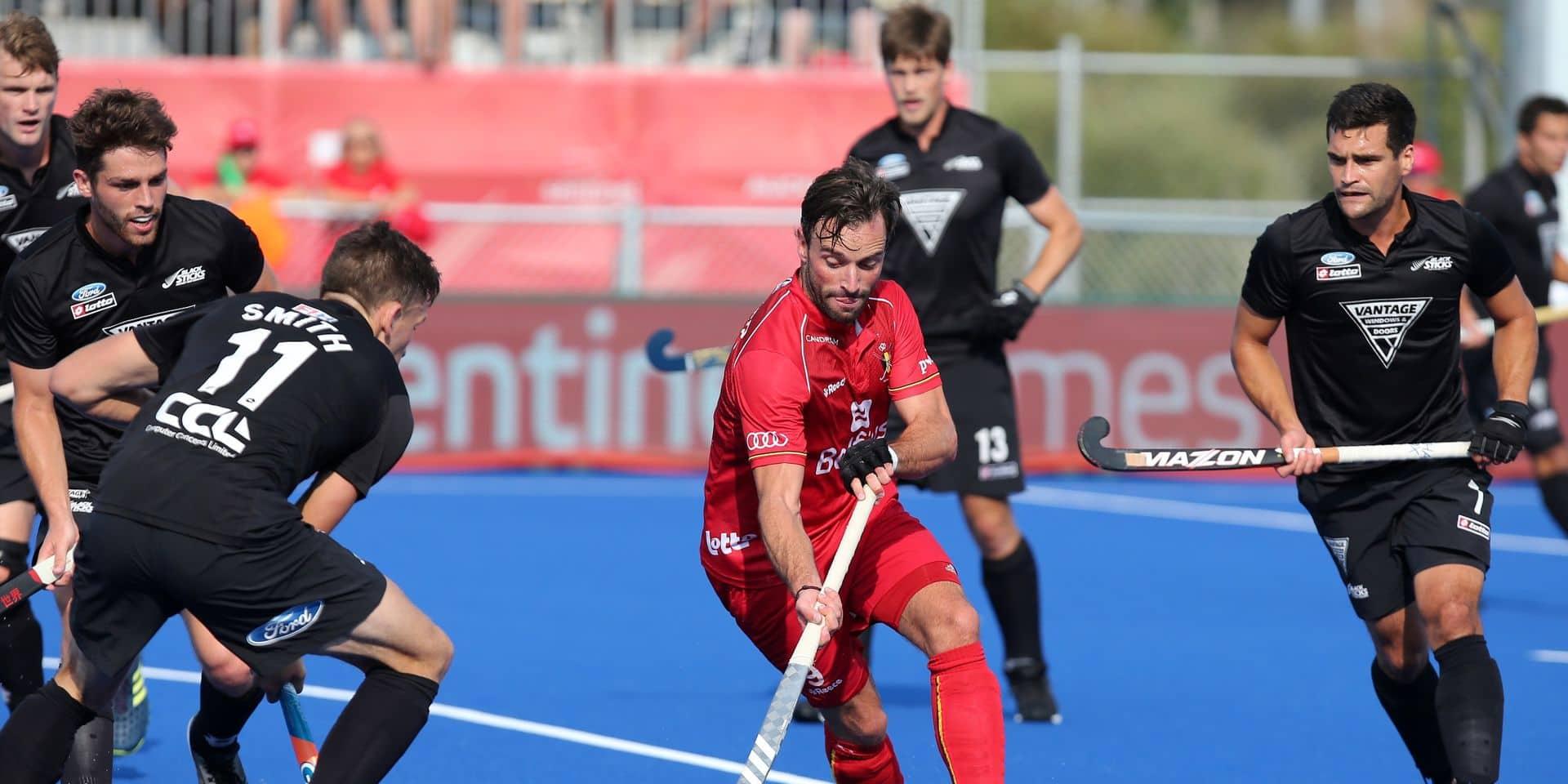 Le Red Lion Sebastien Dockier change de club aux Pays-Bas et rejoint Pinoké