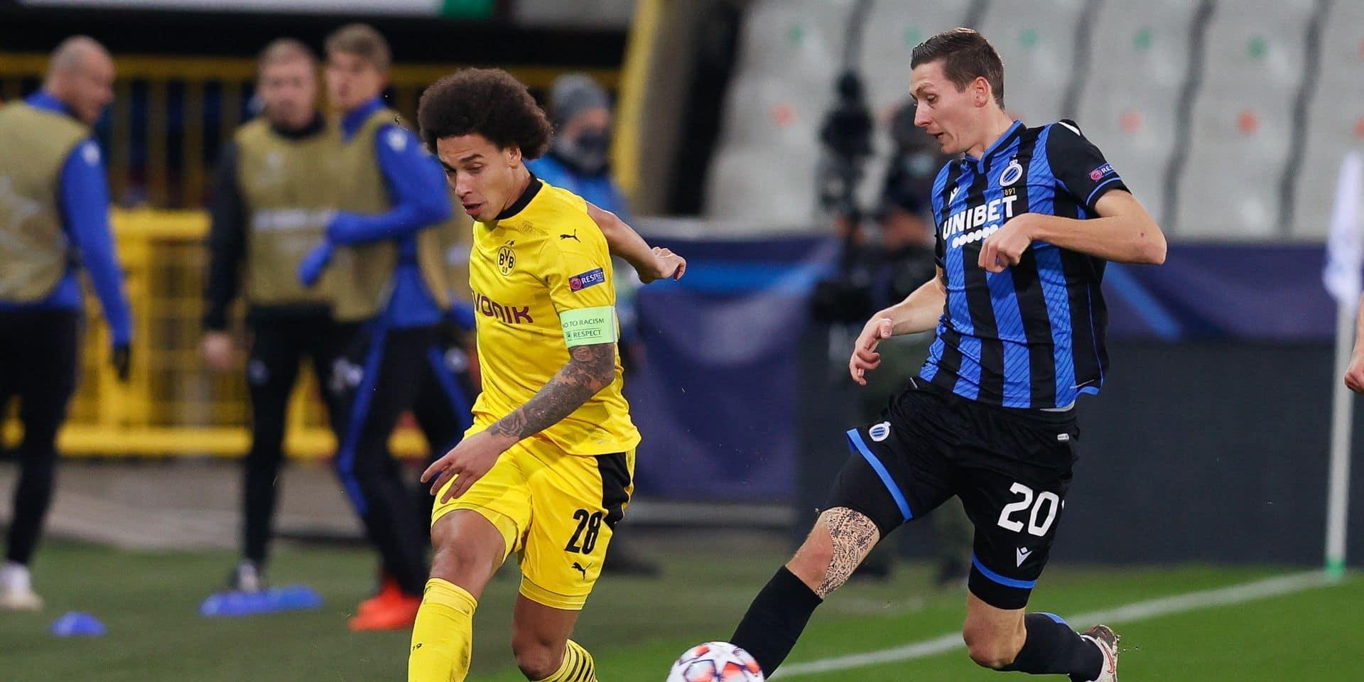 Les Brugeois s'inclinent face à Dortmund, définitivement trop fort (3-0)