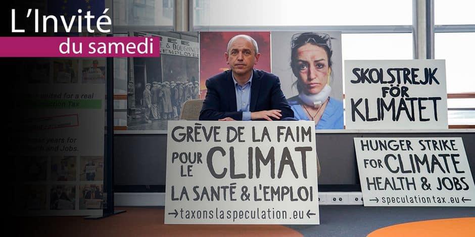 """Pierre Larrouturou : """"Les chefs d'Etat doivent choisir entre taxer le citoyen ou la spéculation"""""""