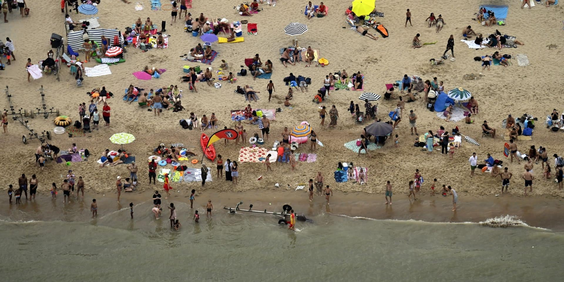 Le système de réservation à nouveau en place ce week-end pour les principales plages d'Ostende