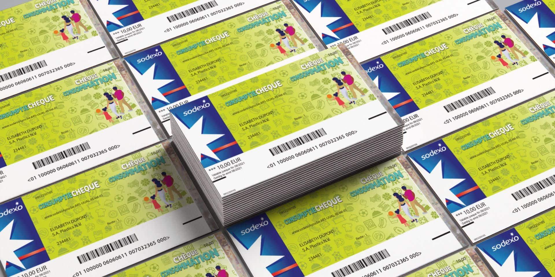 Déjà 82 millions d'euros de chèques consommation distribués en Belgique
