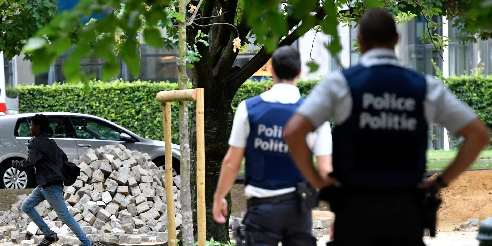 Opération de police en cours contre les migrants