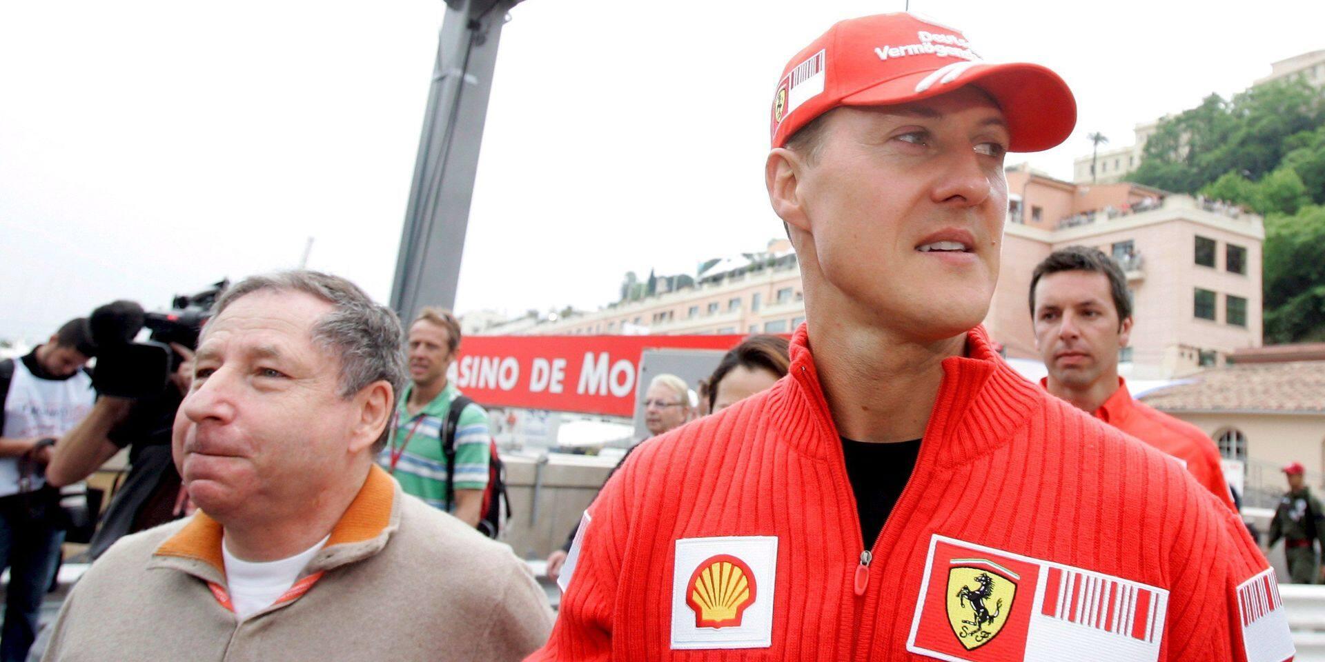 """Jean Todt donne de rares nouvelles de Michael Schumacher: """"Il se bat toujours"""""""