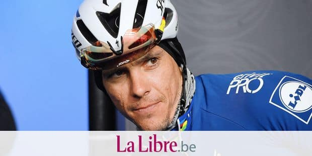 Belgian Philippe Gilbert of Quick-Step Floors pictured before the start of the Men's 2018 edition of the one-day cycling race Omloop Het Nieuwsblad, 196,2 km from Ghent to Ninove, Saturday 24 February 2018. BELGA PHOTO DAVID STOCKMAN