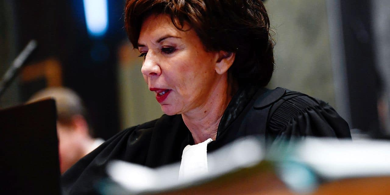 Lawyer Michele Hirsch, representing the committee of Jewish organisations CCOJB pictured during a session in the trial regarding the terrorist attack at the Jewish Museum in Brussels, at the Brussels Justice Palace, in Brussels, Friday 18 January 2019. Nemmouche and Bendrer are accused of committing a terrorist attack on 24 May 2014 at the Brussels Jewish Museum, killing four people. BELGA PHOTO POOL DIRK WAEM