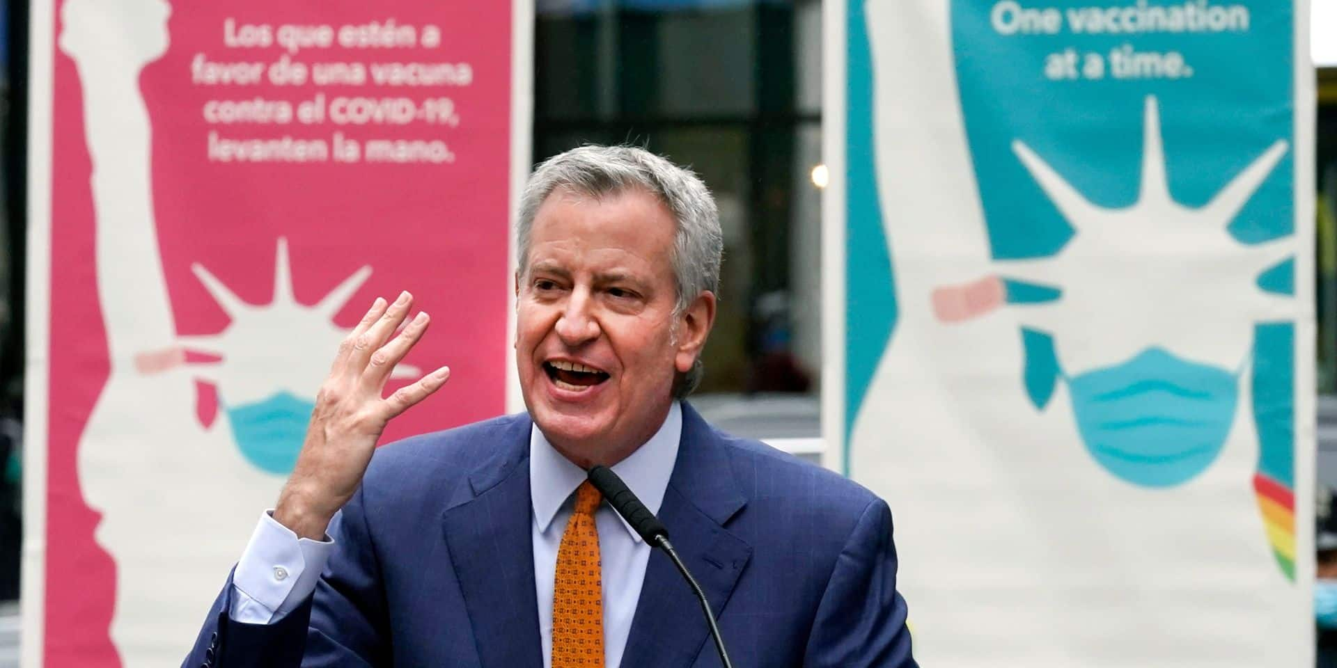 Des frites gratuites après s'être fait vacciner: l'improbable proposition du maire de New York pour inciter à la vaccination
