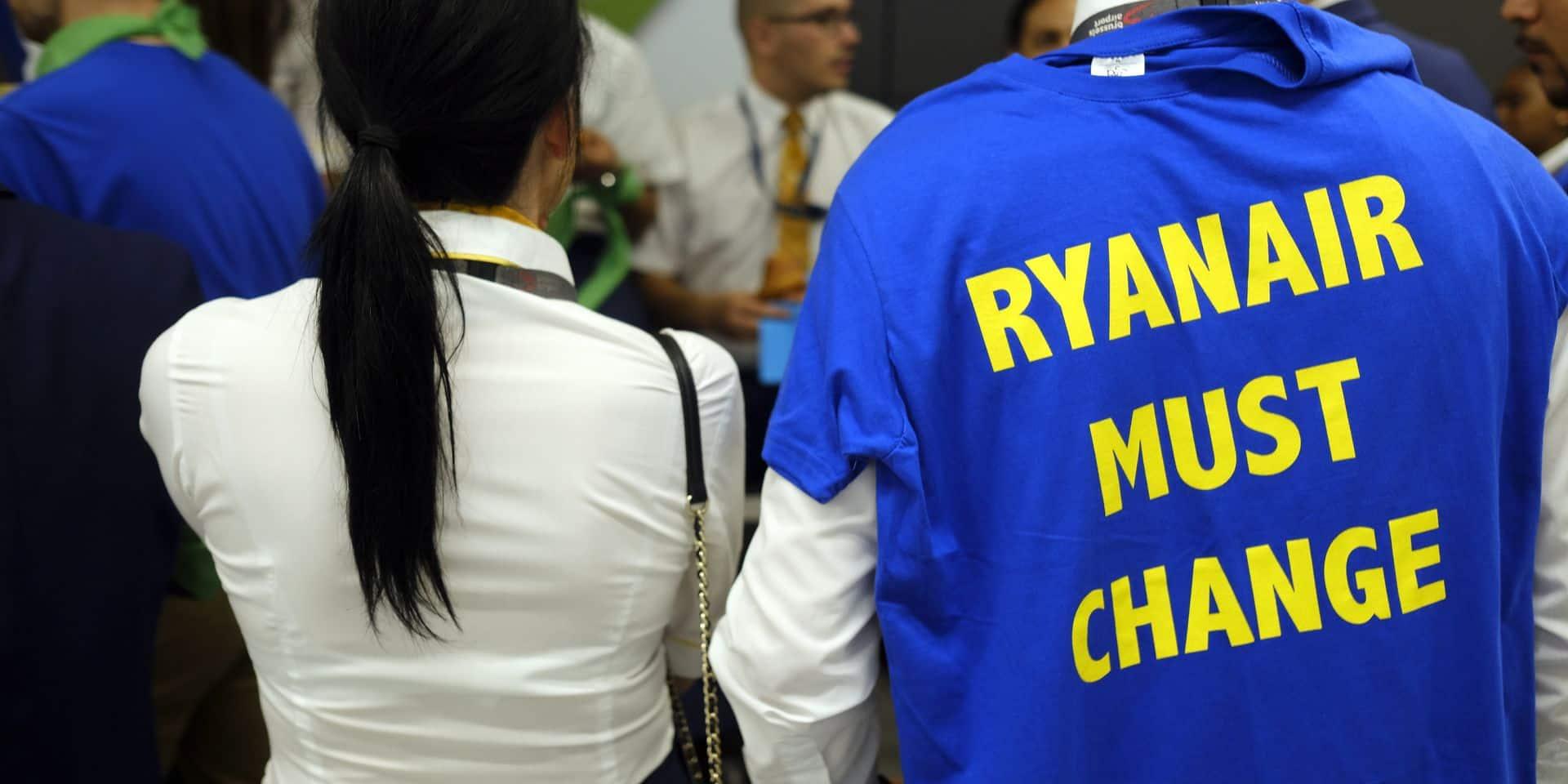 Grèves Ryanair: les pilotes belges demandent au pouvoir politique de mettre davantage la pression