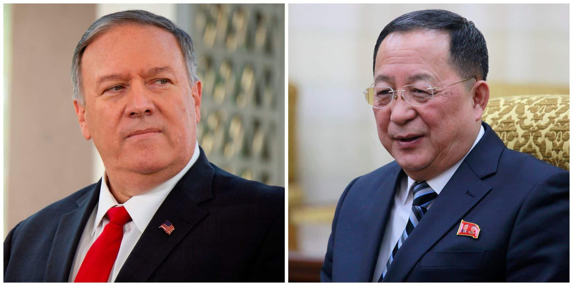 Le ministre nord-coréen des Affaires étrangères s'en prend à Mike Pompeo avec véhémence