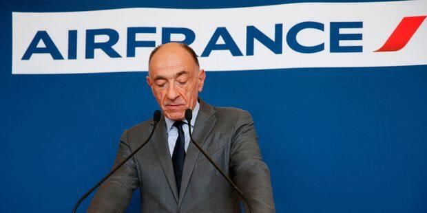 Air France chute de 13% en Bourse après la démission de son PDG - La Libre