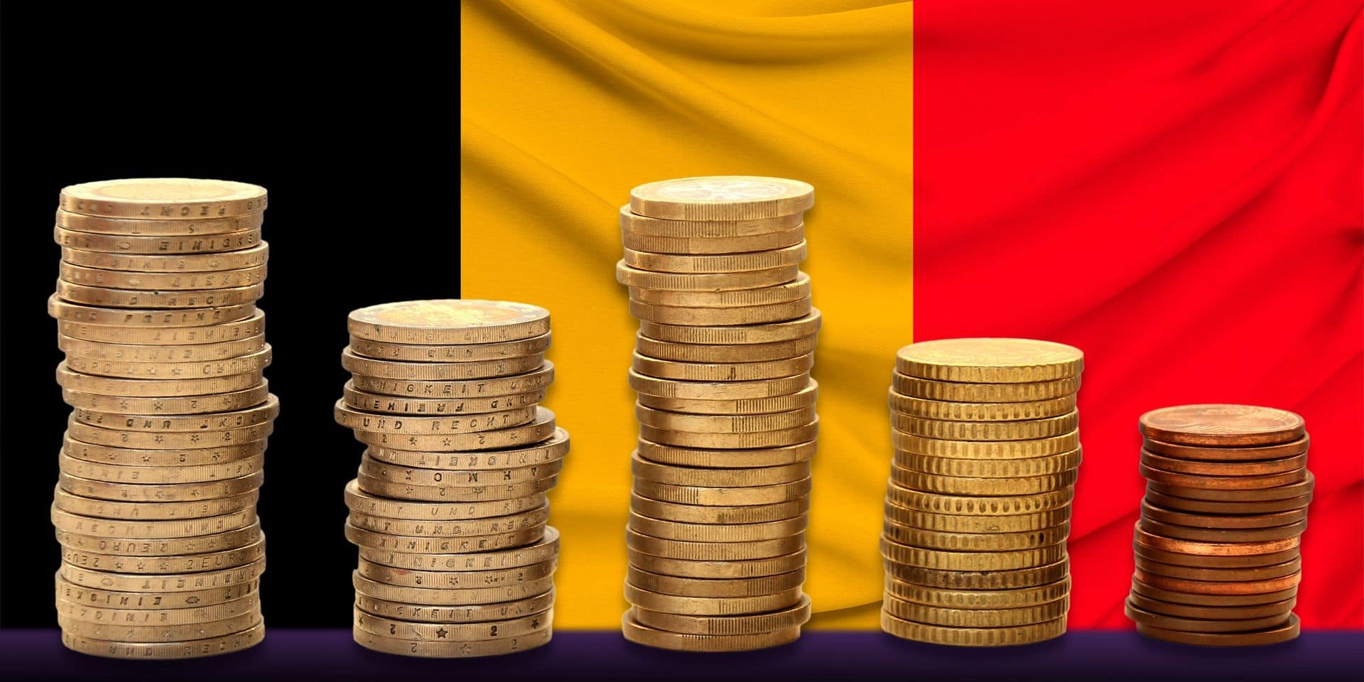 Le Belge gagne en moyenne 3 783 euros bruts par mois