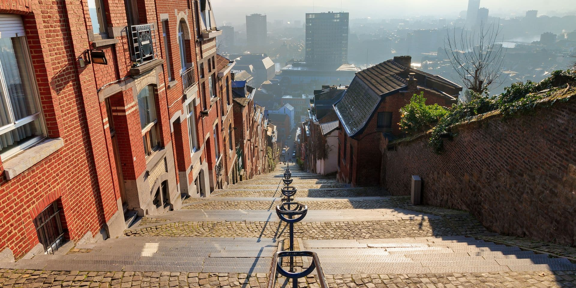 374-step,Long,Staircase,Montagne,De,Bueren,,A,Popular,Landmark,And