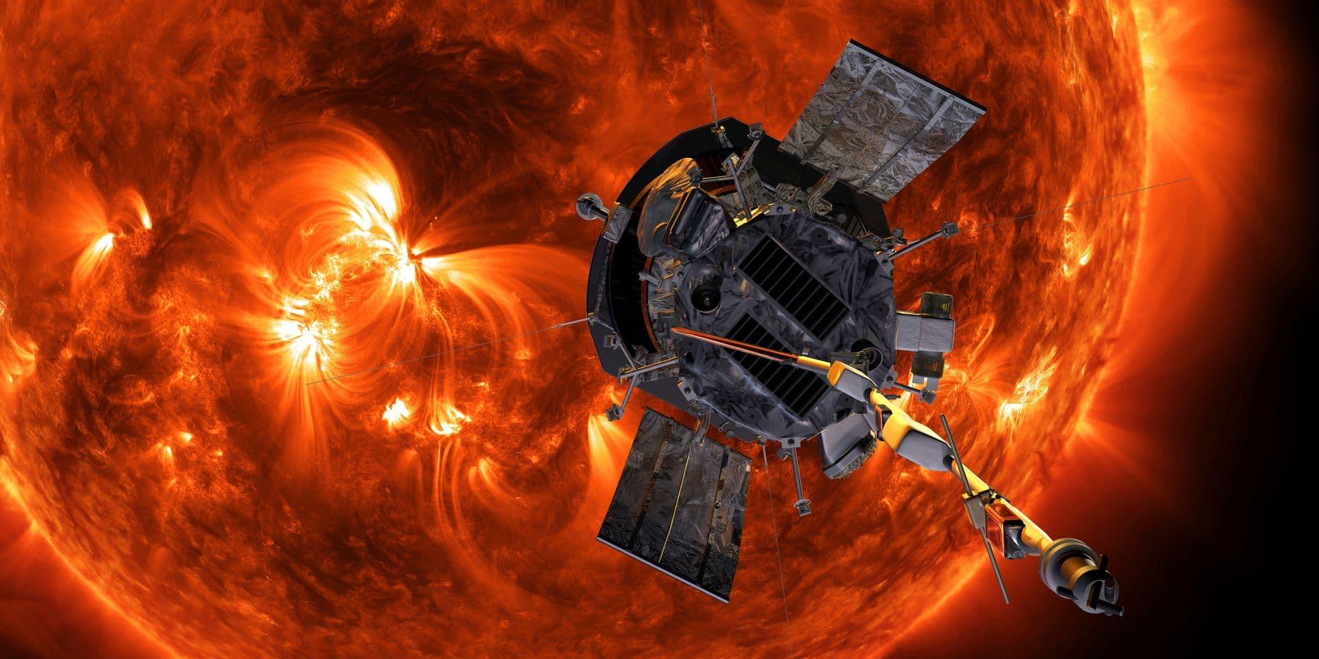 Avec la sonde Parker, l'Université de Liège pénétrera dans la couronne du Soleil