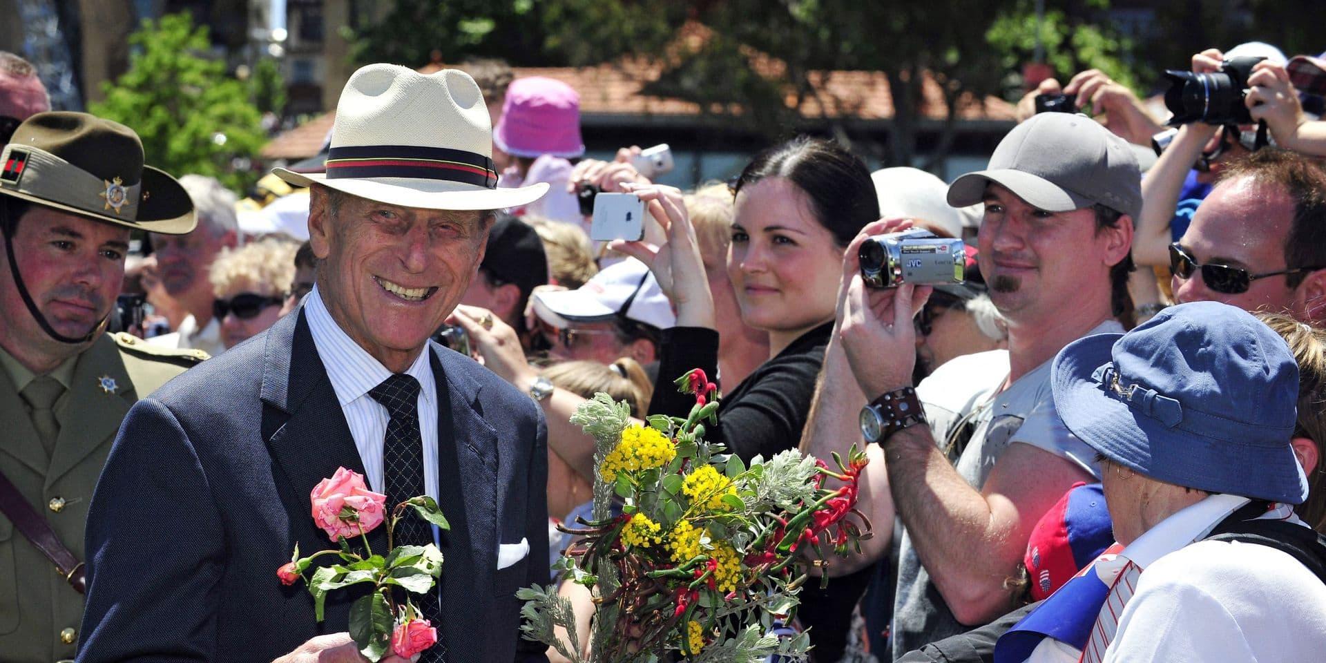 Les relations chaleureuses du Prince Philip avec l'Australie mises à l'honneur lors de ses funérailles