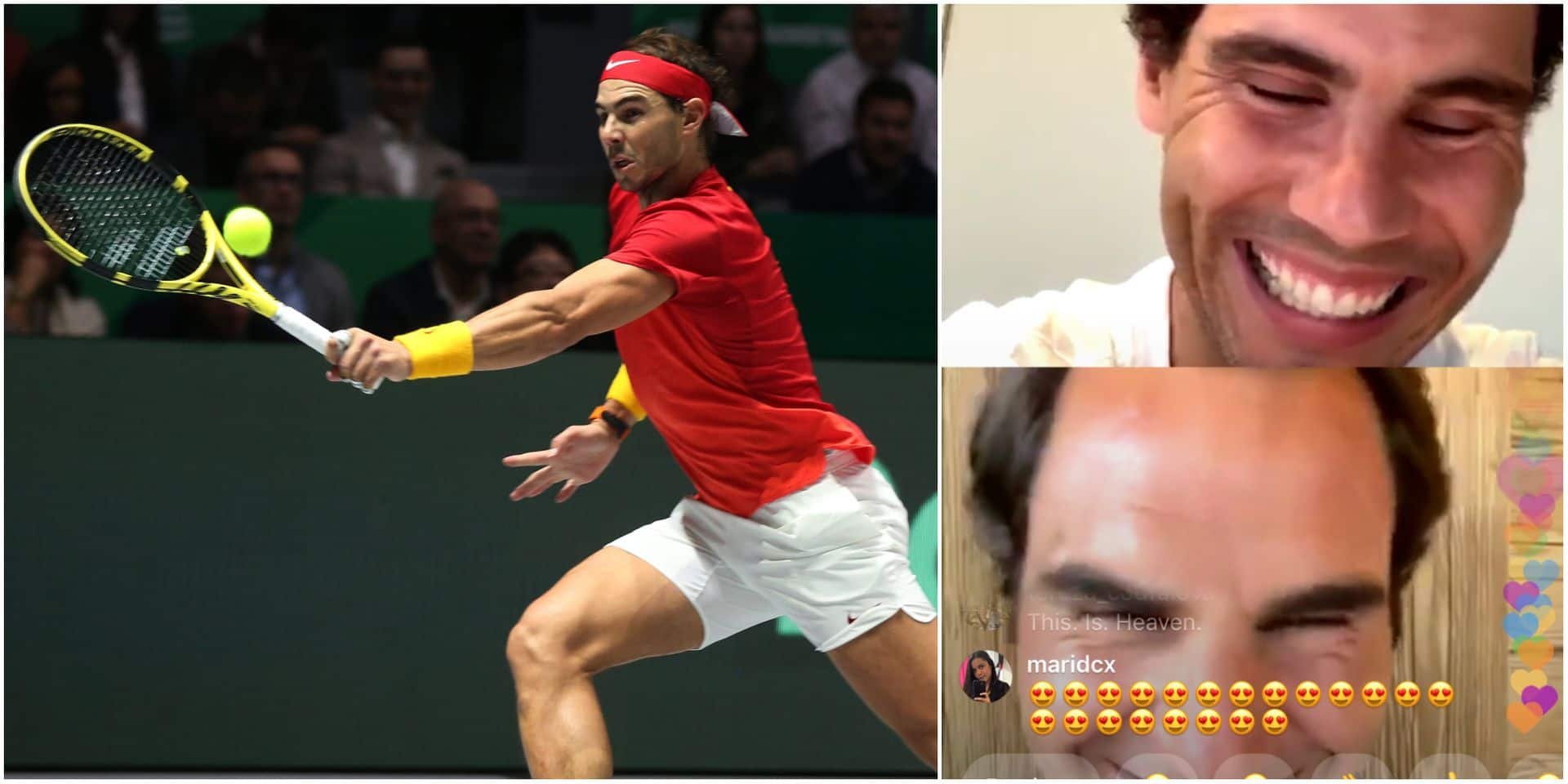"""Nadal: """"Je ne comprends pas pourquoi on ne peut pas jouer au tennis"""""""