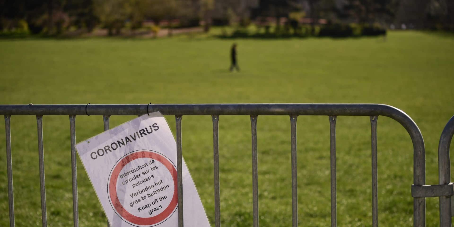 """Coronavirus: Interdire l'accès aux parcs ? """"Ce serait de l'excès de pouvoir des communes"""""""