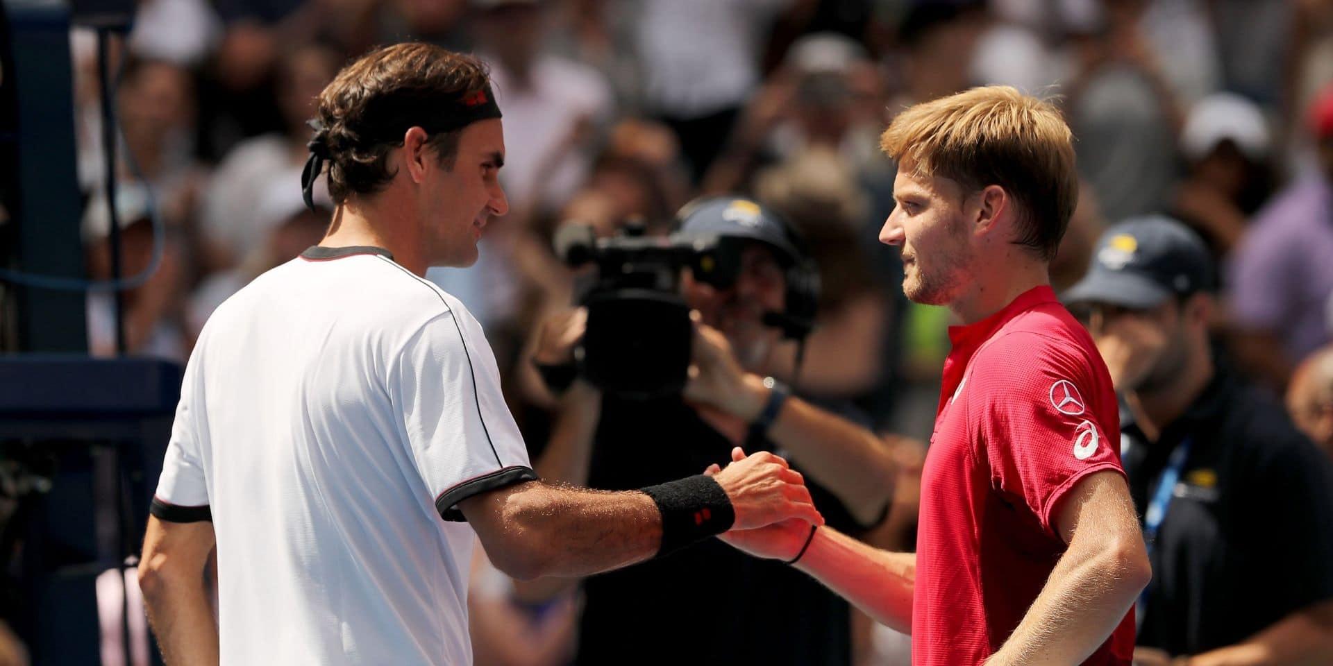 Après avoir dominé, Goffin a craqué face à Federer à Shanghai (6-7, 4-6)