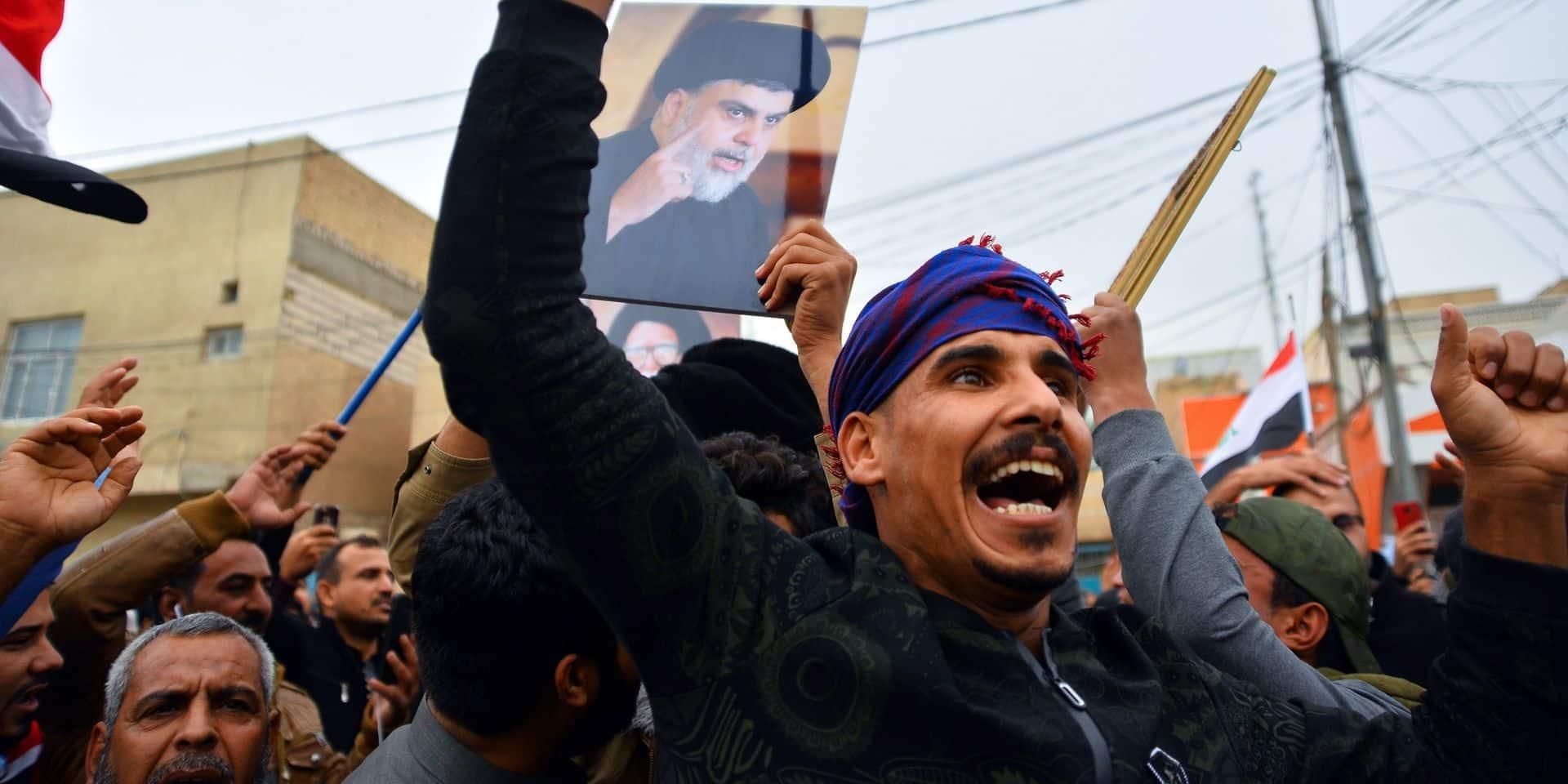 Des milliers d'Irakiens dans la rue malgré les morts à Bagdad