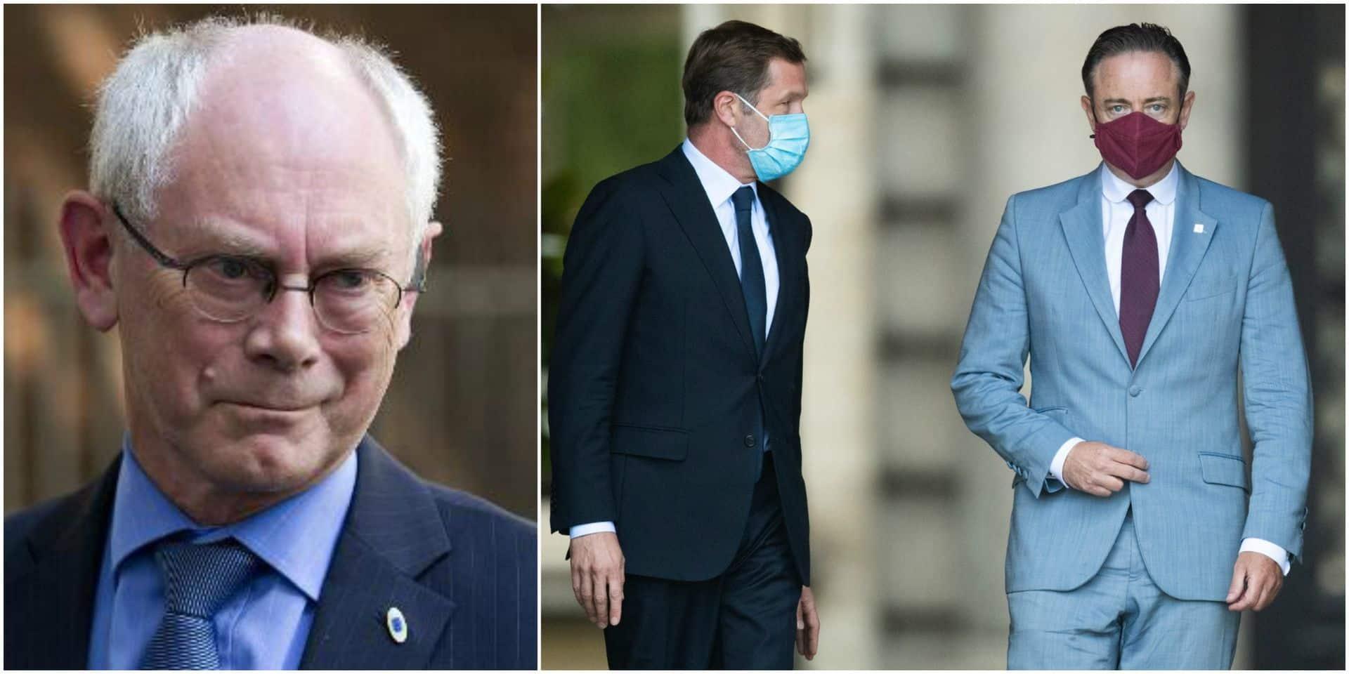 Le Roi à la recherche d'un démineur : le retour d'Herman Van Rompuy ?