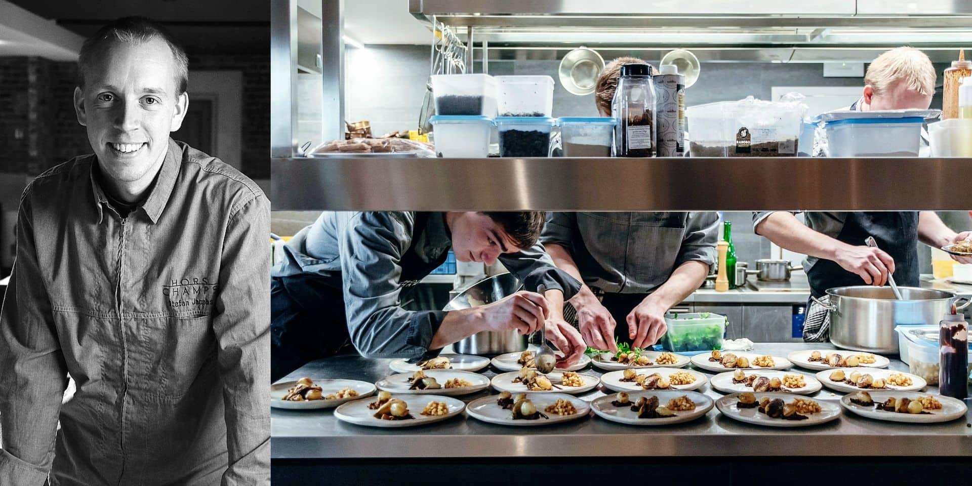 Stefan Jacobs a trouvé la recette pour garder son restaurant le Hors-Champs à flot