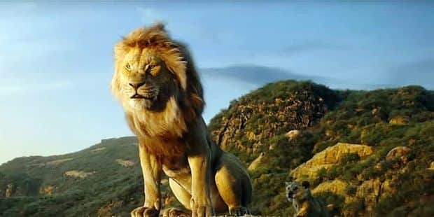 """Le Roi Lion"" plus fort que Tarantino au box-office nord-américain"