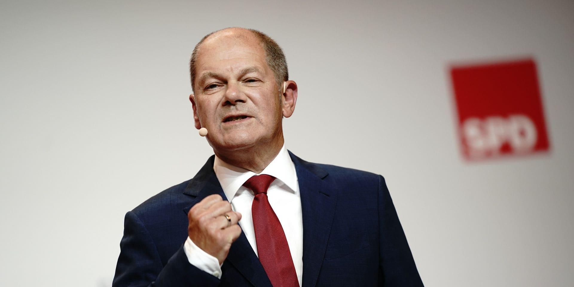 Allemagne: le ministre des Finances, Olaf Scholz, sera la candidat des sociaux-démocrates à la chancellerie