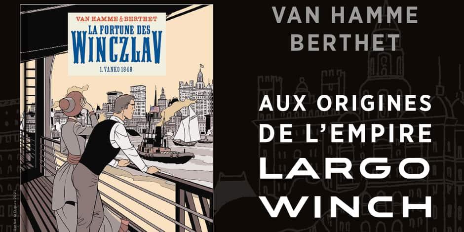 """Concours: remportez la bande dessinée """"La fortune des Winczlav"""""""