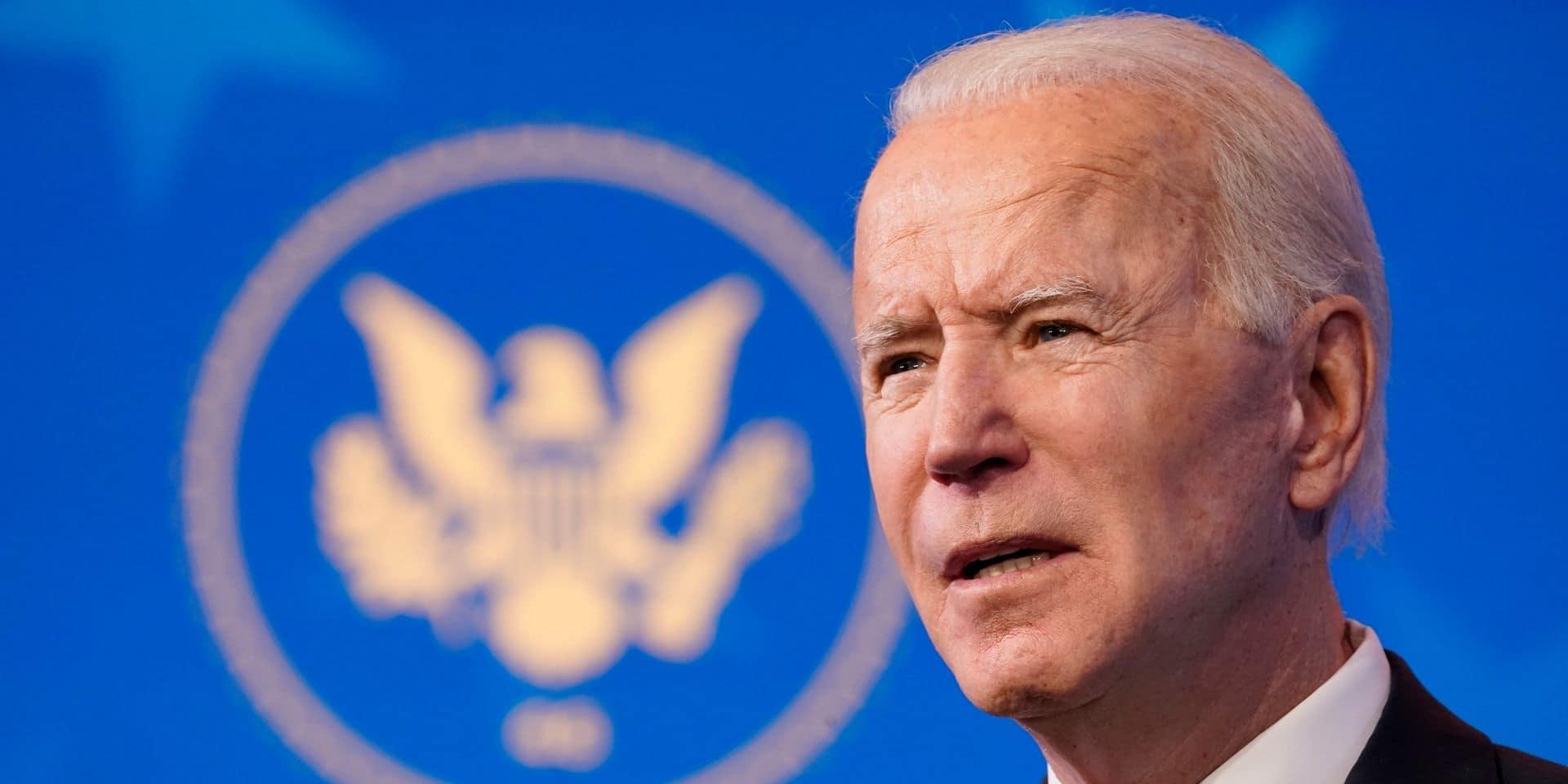 """Biden finalise son équipe diplomatique et veut """"réparer"""" la politique étrangère américaine"""