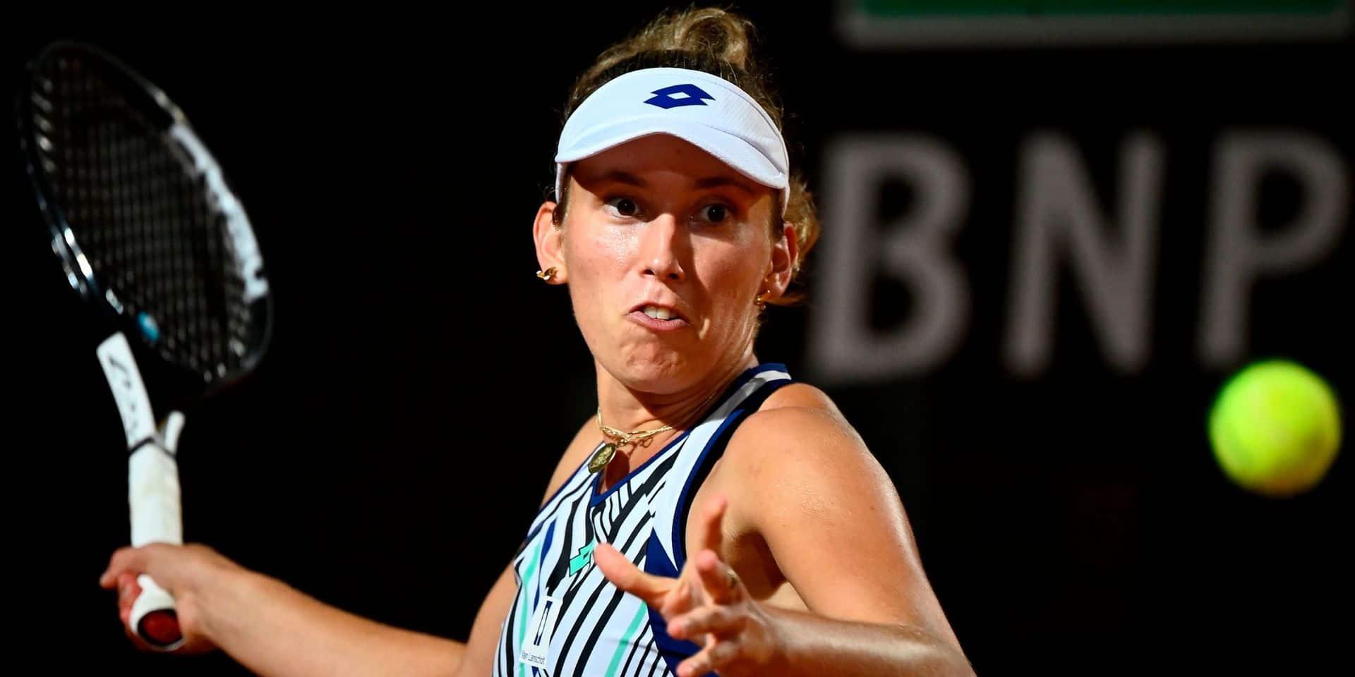 """Mertens, battue par Pliskova en quarts : """"Je n'avais plus d'énergie dans le 3e set"""""""
