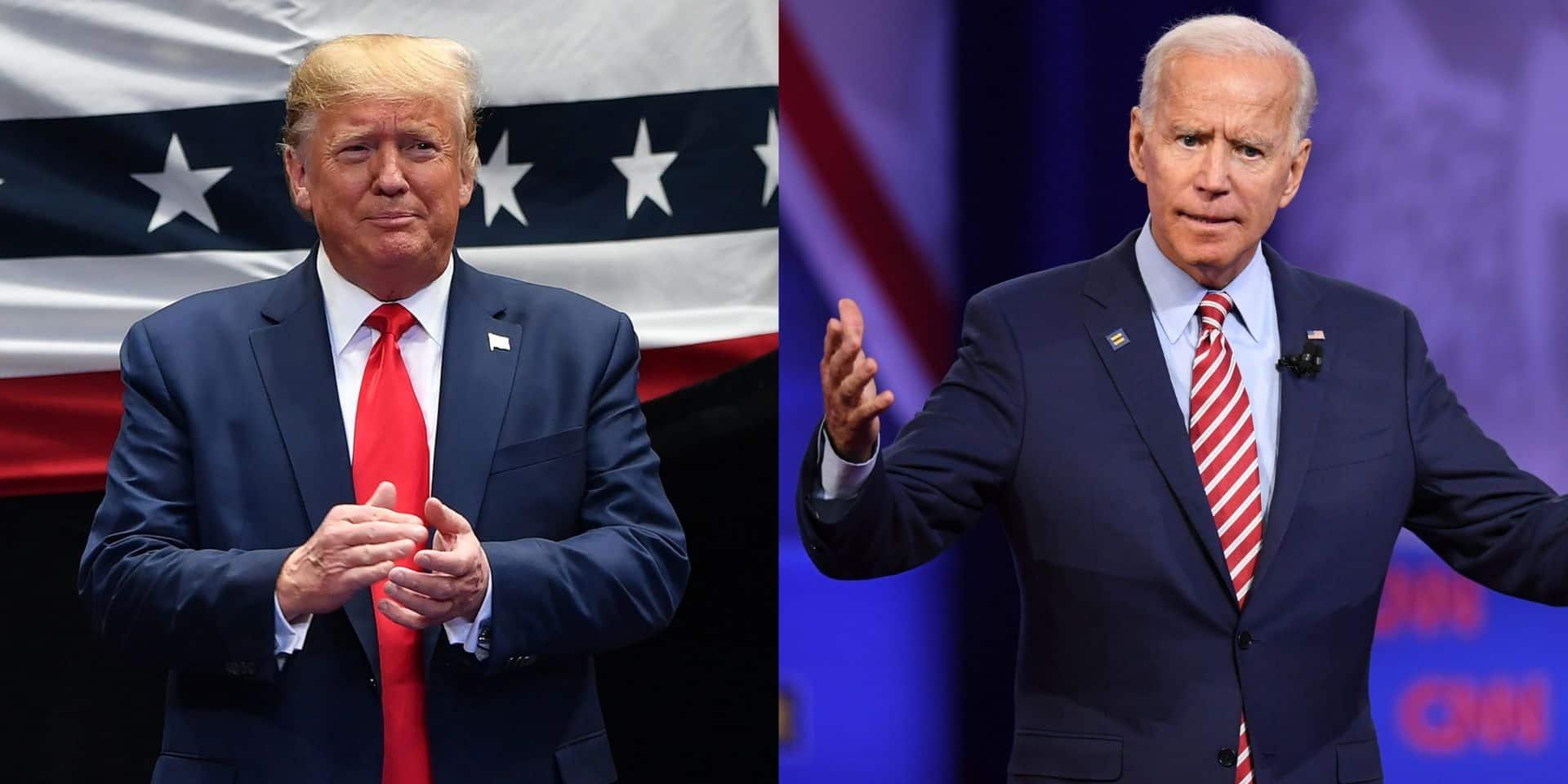 """Quand Trump trolle son adversaire démocrate Biden : """"Oups, Joe a oublié les latinos"""""""