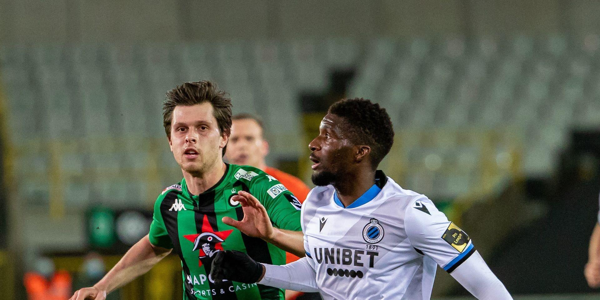 """Clinton Mata veut gagner en jouant bien face au Standard: """"On va revoir le Bruges de Genk"""""""