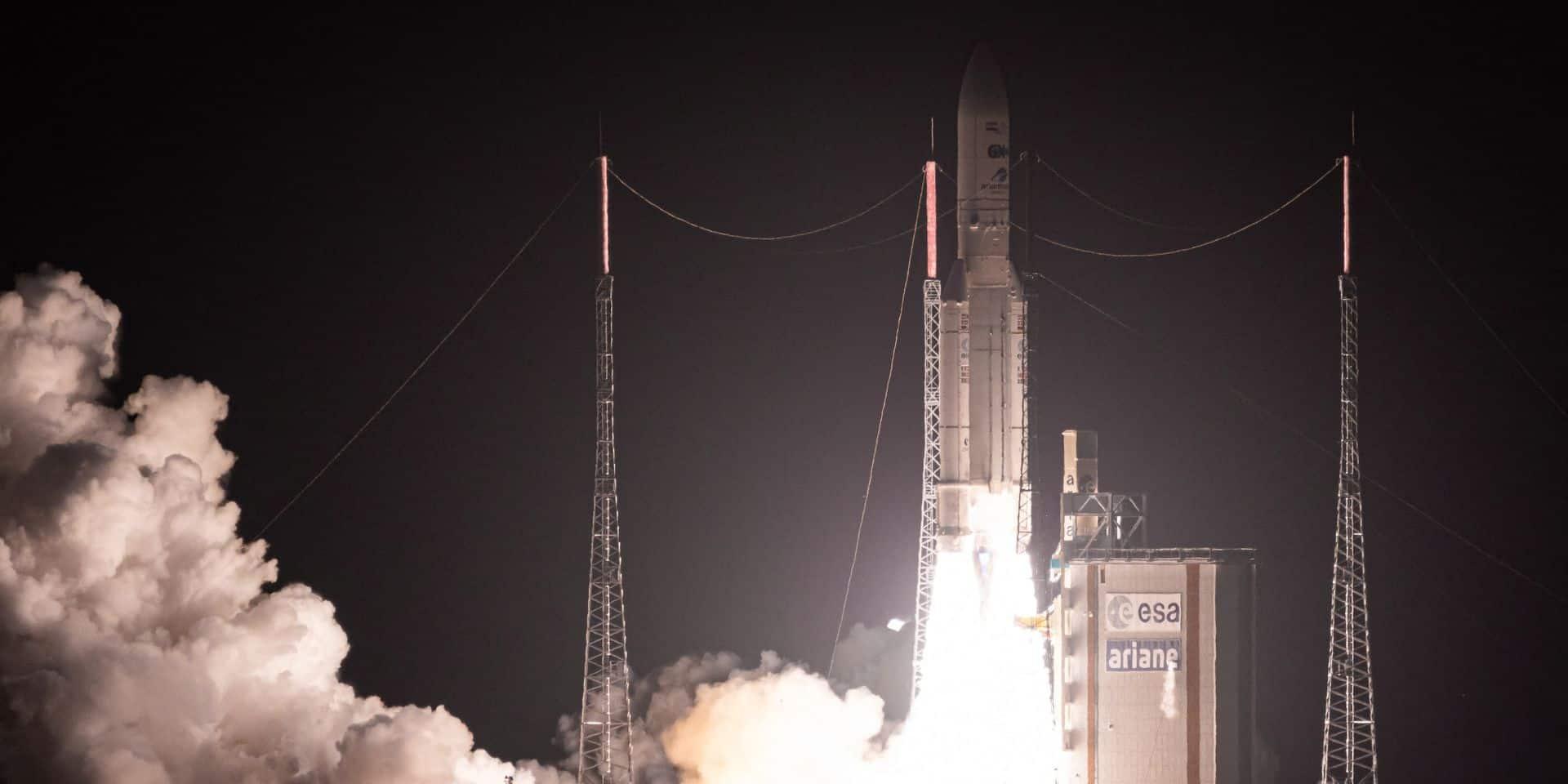 """""""Que ce soit à Bruxelles ou en Wallonie, nous avons des entreprises qui sont présentes dans beaucoup de segments de la construction d'une fusée Ariane"""", souligne Michel Stassart, en charge du secteur pour la coupole wallonne Skywin."""