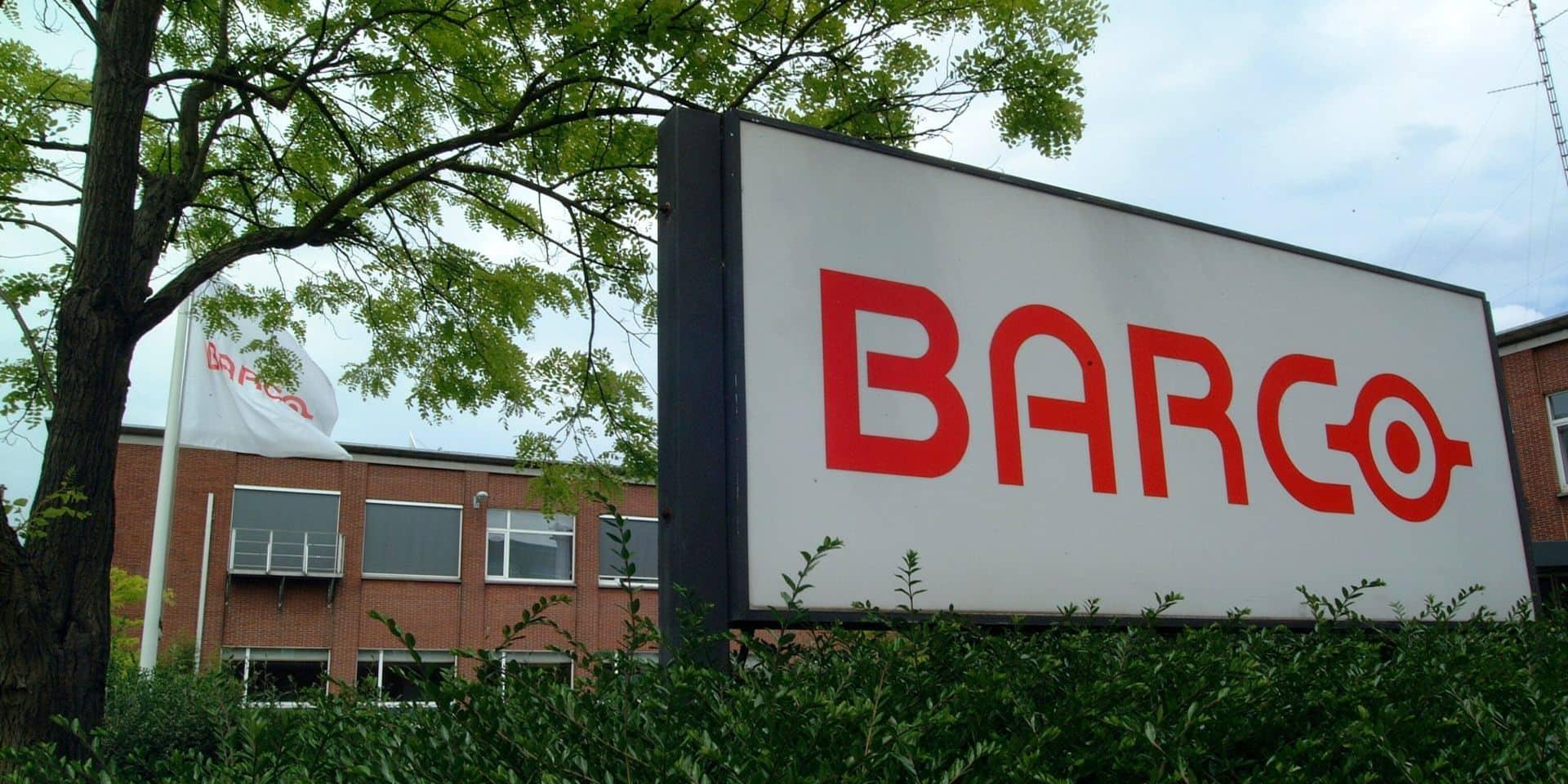 Bourse de Bruxelles : le BEL 20 poursuit sa progression, Barco et banques en tête