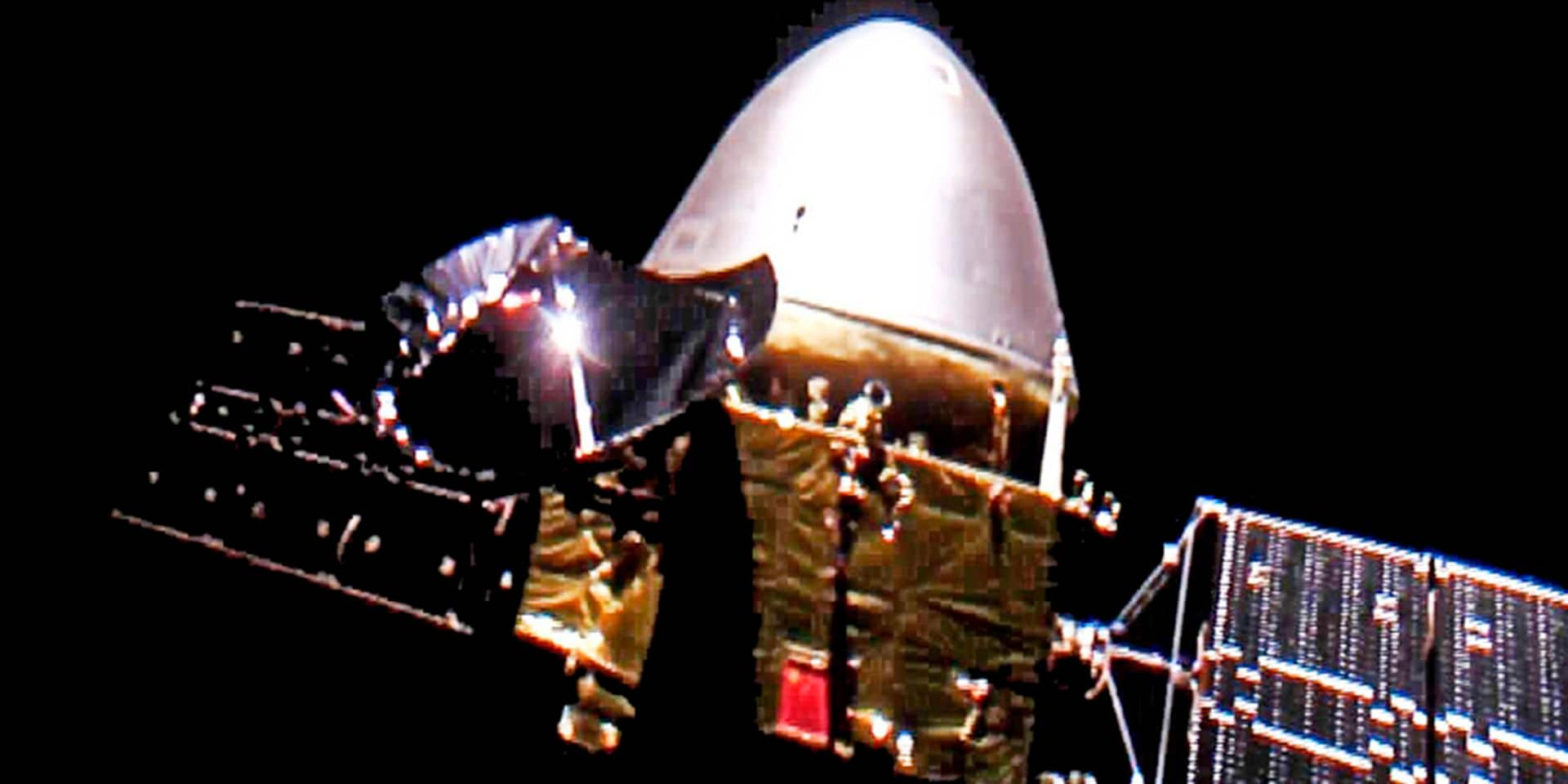 La Chine s'apprête à faire atterrir son robot téléguidé sur Mars