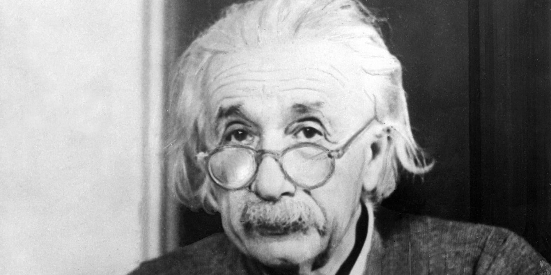 Le scientifique Albert Einstein a été mis à l'honneur par la Suisse.
