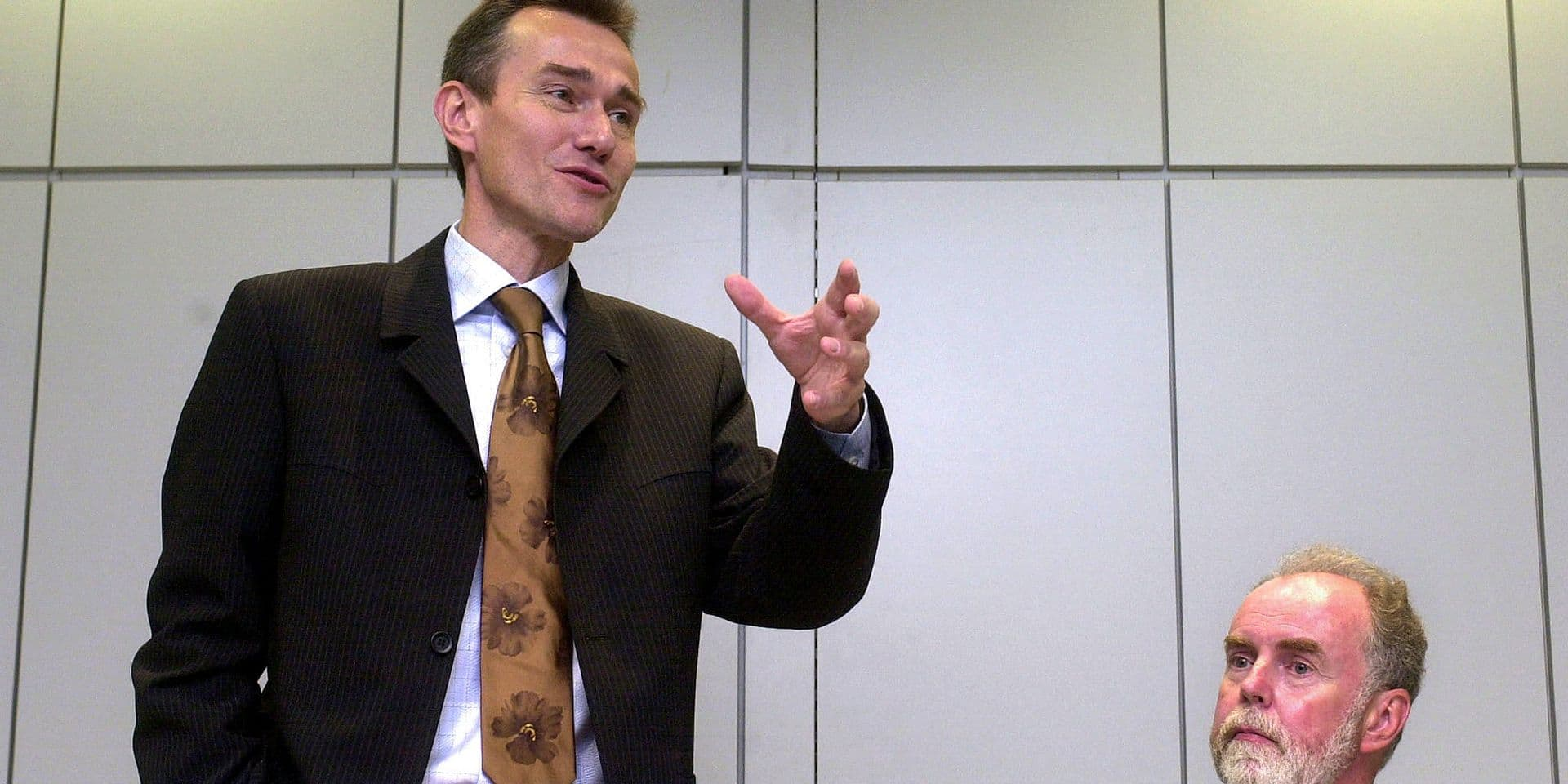 Franck Vandenbroucke, ancien ministre des Pensions.