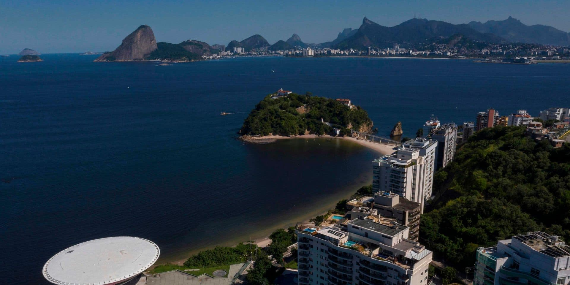 Epidémie de coronavirus au Brésil: face à Rio, de l'autre côté de la baie, Niteroibon est le bon élève