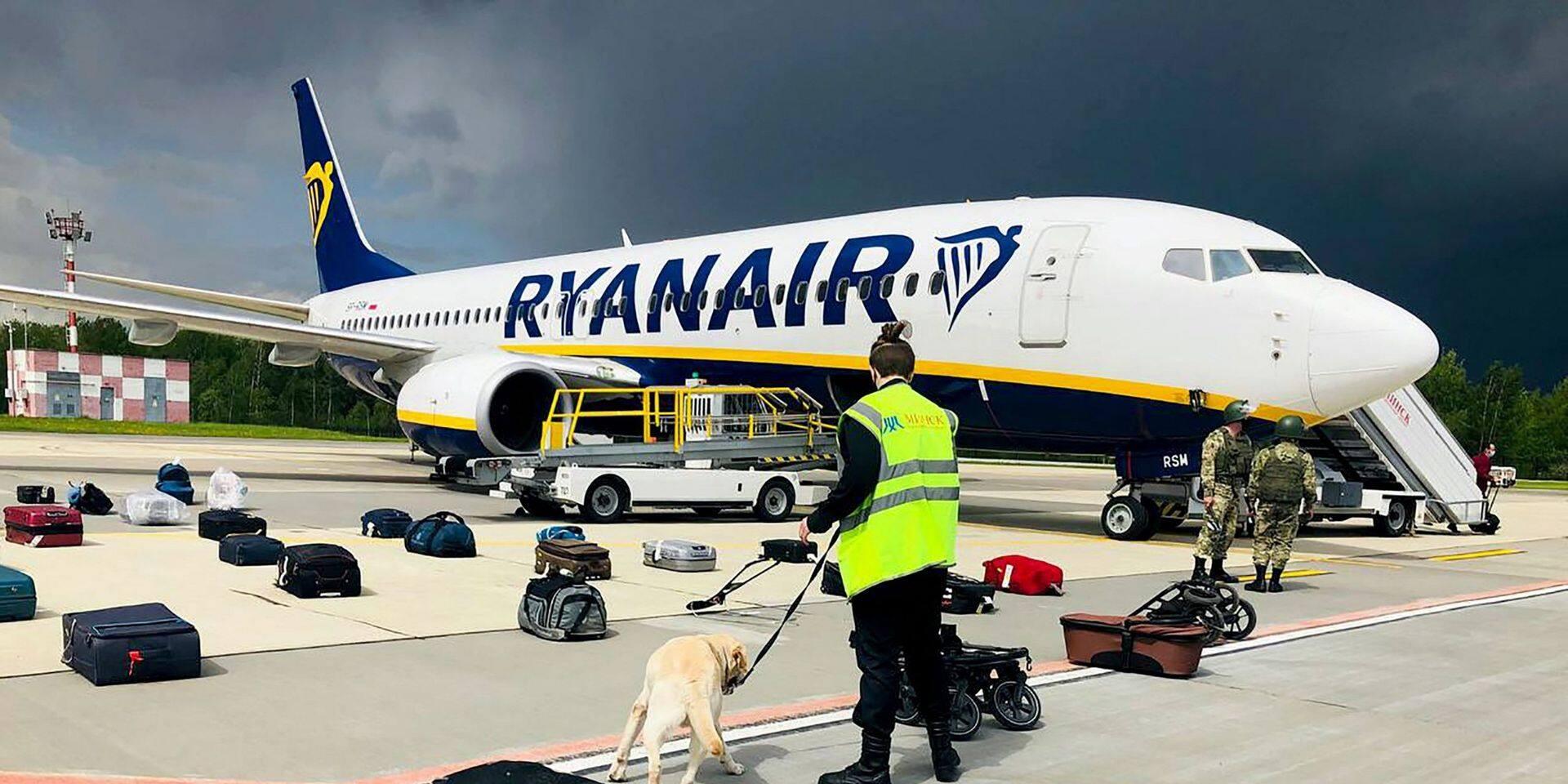 Bélarus: un avion Ryanair forcé à atterrir pour arrêter un opposant de Loukachenko, la communauté internationale réagit vigoureusement