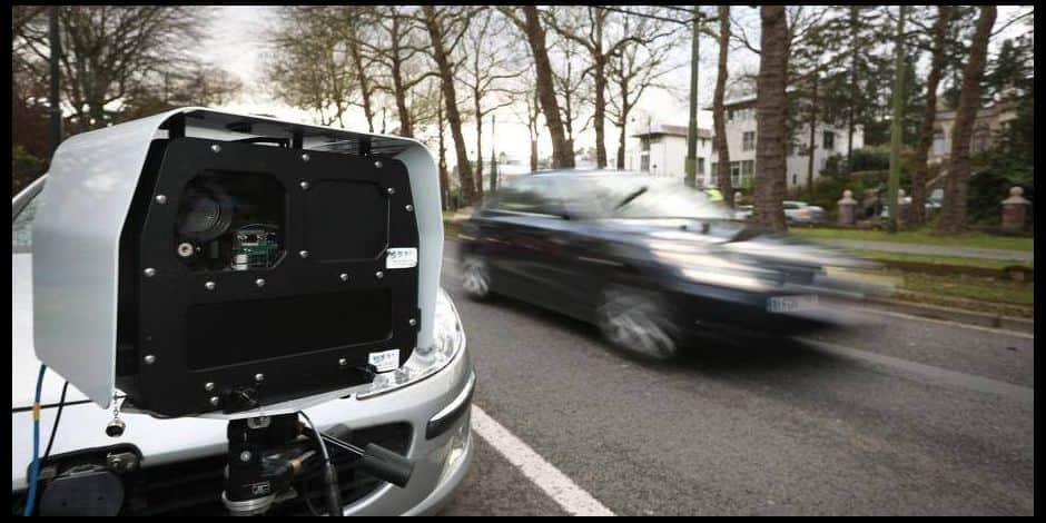 Bruxelles Nord : le nombre de contrôles de radars mobiles a plus que doublé en 2020