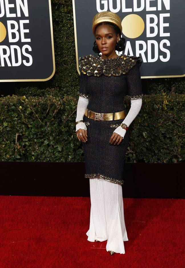 Janelle Monae portait une tenue Chanel